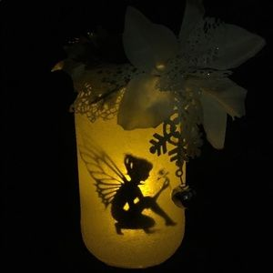 Hand made - Winter Fairy in a Jar